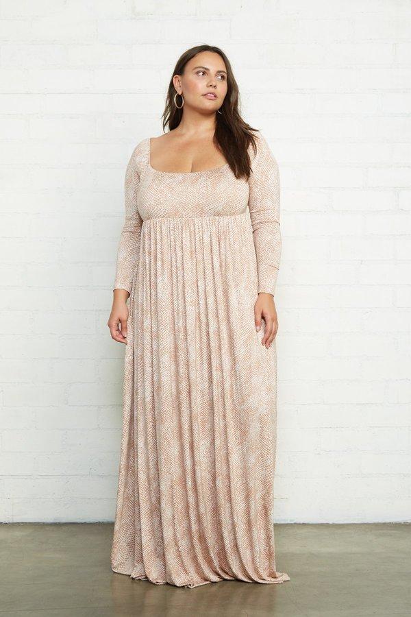 Rachel Pally Isa Plus Size Dress - Snake