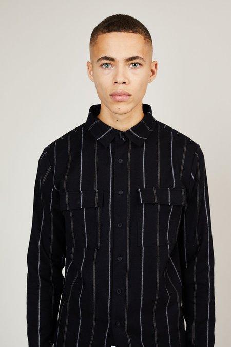 Native Youth Furrow Shirt - Black