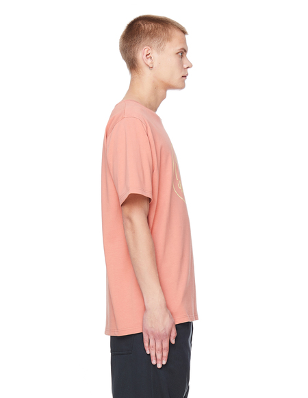 Pigalle Basketball Printed Cotton T-Shirt - Pink