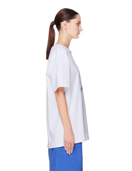 Pigalle Cotton T-Shirt - White