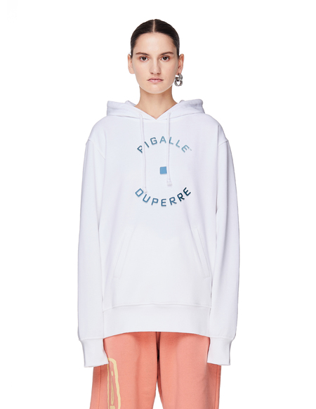 Pigalle Cotton Hoodie - White