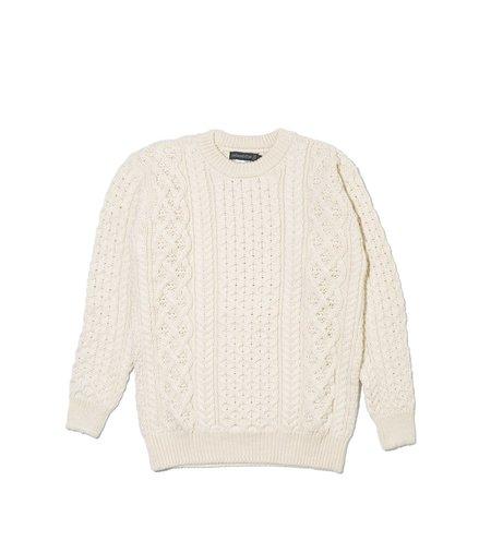 Ireland's Eye Aran Sweater- Natural