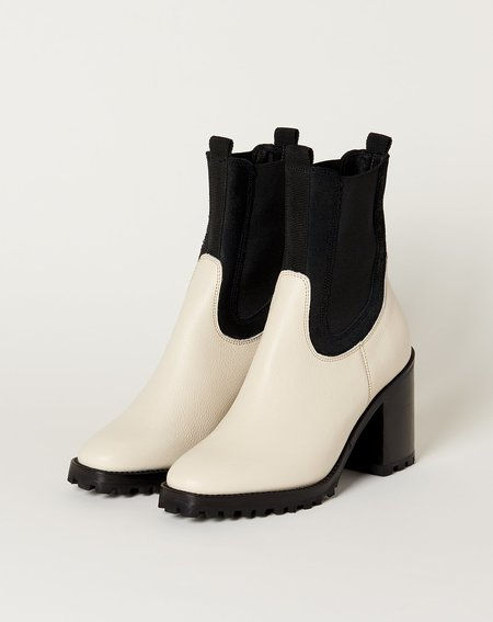 Rachel Comey Stunt Boot - Bone/Black