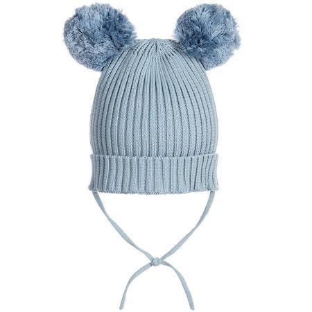 Kids Mini Rodini Ear Hat - Blue