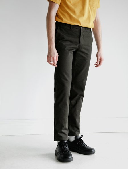 Norse Projects Aros Heavy Chino - Beech Green