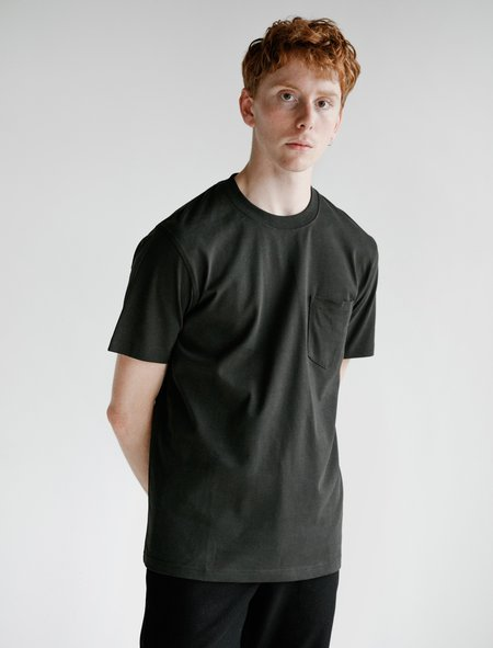 Norse Projects Johannes Pocket Short Sleeve T-Shirt - Beech Green