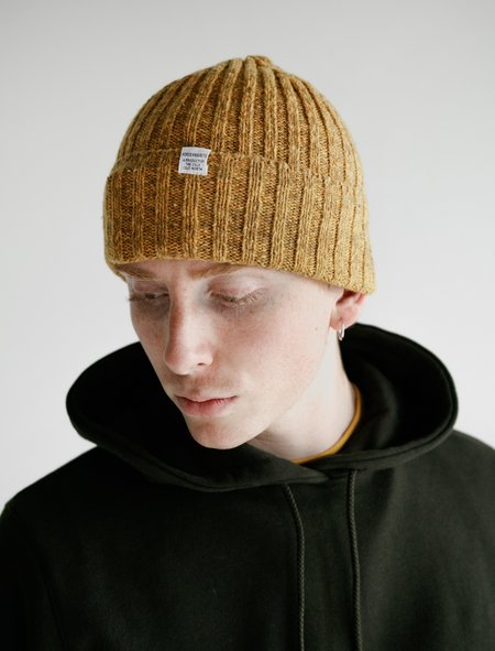 Norse Projects Neps Beanie - Mustard Yellow