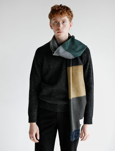 Norse Projects x Begg Scarf - Black Multi