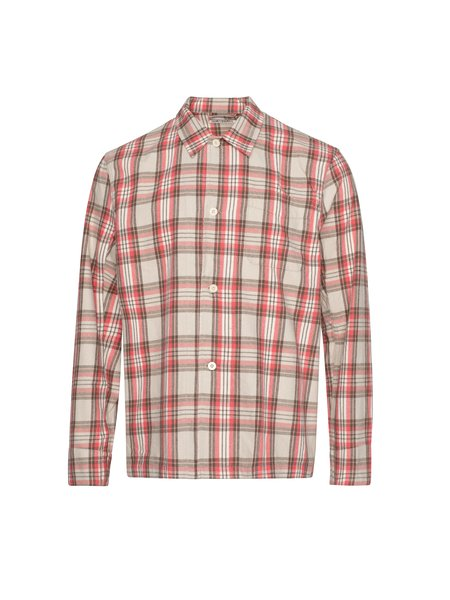 Our Legacy Box Shirt - Pink Check