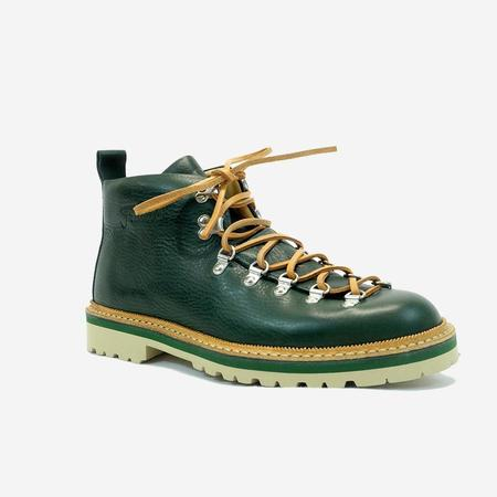 Fracap M120 Magnifico Leather Boots - Dark Green
