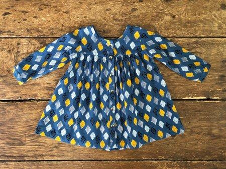 Kids Lali Cleo Dress - Blue Diamond
