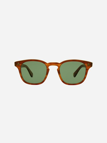 GARRETT LEIGHT Ace 47 Sunglasses - Honey Amber Tortoise