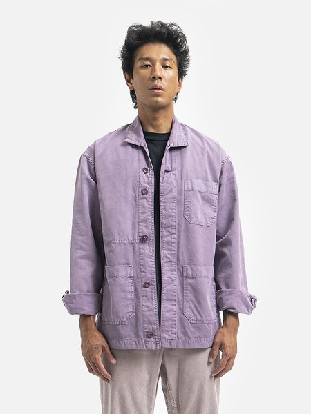General Admission Shore Coat - Purple