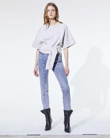 IRO Okwood Sweatshirt - cloudy white