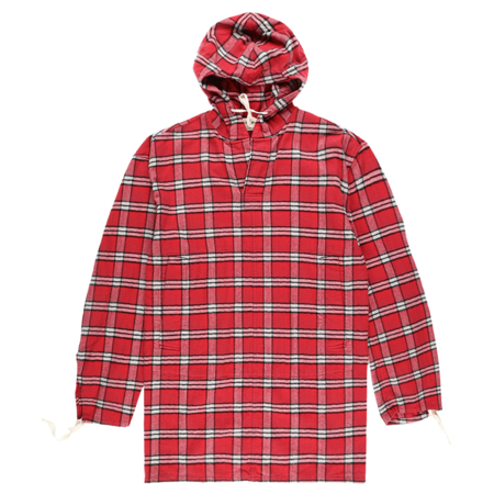 Marni Brushed Cotton Check Shirt - Red