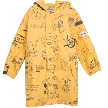 Kids Bobo Choses W.i.m.a.m.p Raincoat - Old Gold