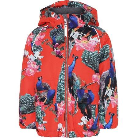 Kids Molo Cathy Peacock Waterproof Winter Jacket