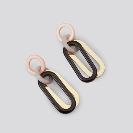 Rachel Comey Sour Earrings - Baby Pink