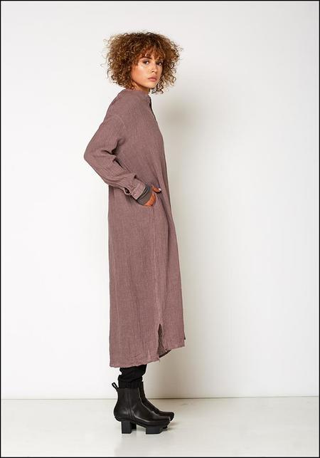 Ichi Antiquites  Linen Voile Dress