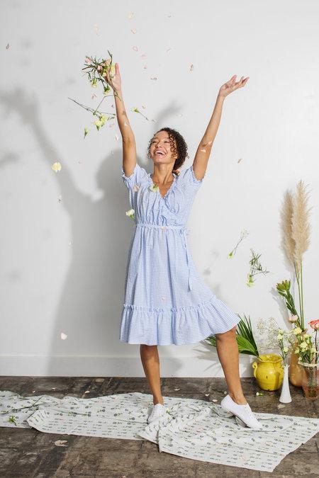 Plante Pampas Dress - Gingham