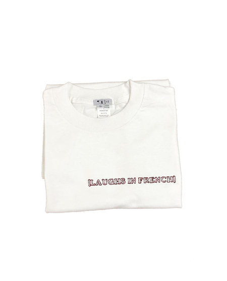 unisex House of 950 (laughs in french) tee shirt