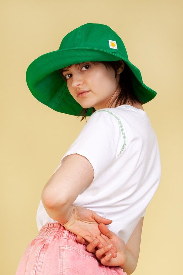L.F.Markey Sun Hat - Green