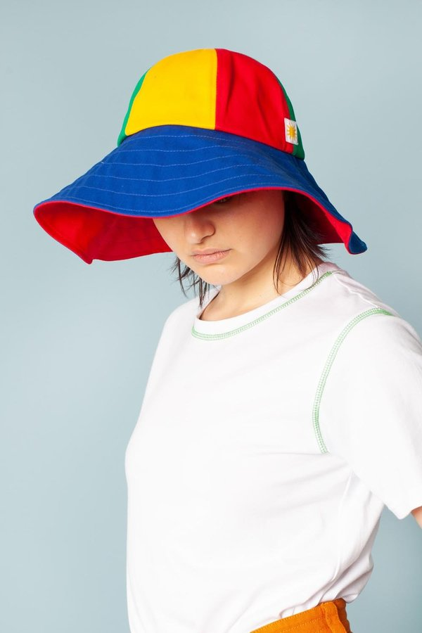 L.F.Markey Sun Hat - Multi