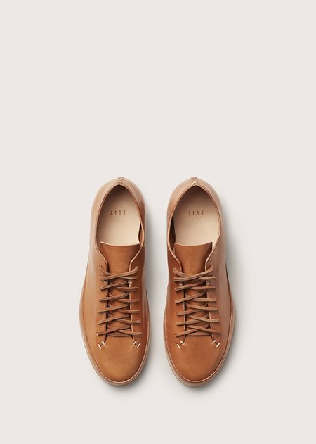 FEIT HAND SEWN LOW RUBBER - tan