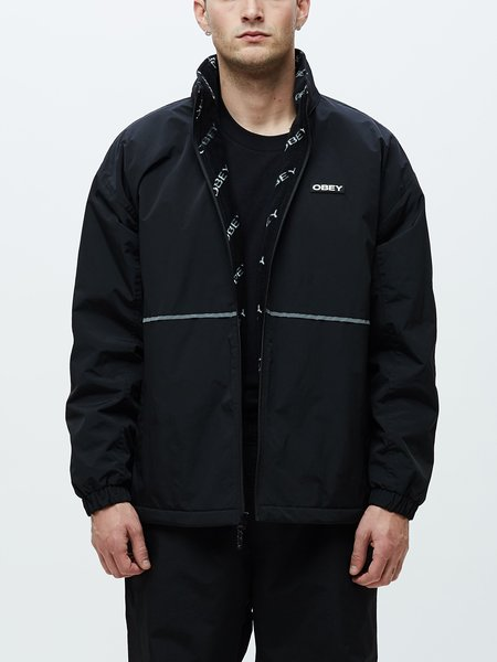Obey Prone Jacket - Black