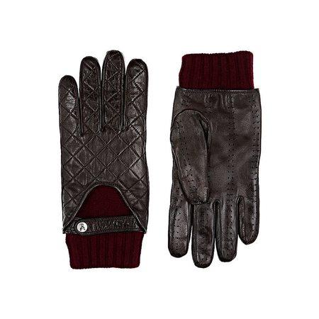 NOAH WAXMAN Leather Gloves