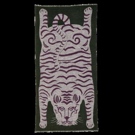Inouitoosh Thylacine Scarf - Blue/Khaki