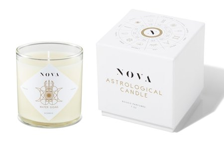 Nova Water Sign Astrological Candle