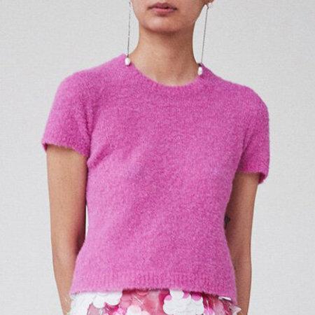 Rachel Comey Bo Top - Pink Boucle