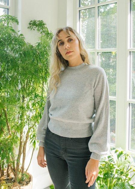 Demy Lee Carmen Sweater - Light Heather Grey