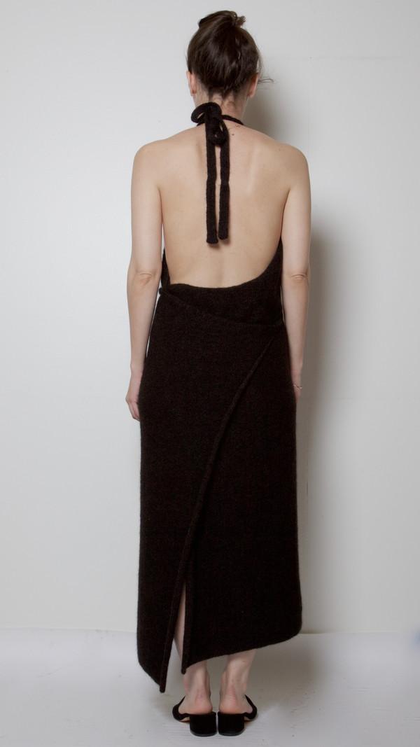 4c90daa246d Baserange Knit Apron Dress in Black. sold out. Baserange