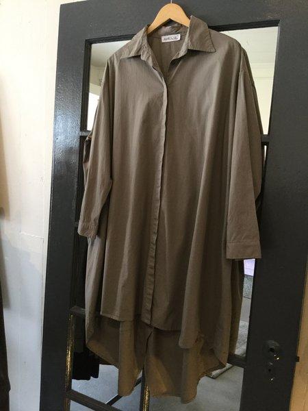 Baci Button Up Shirt Dress