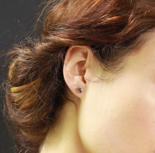 Blanca Monrós Gómez Flat Seed Stud Earrings