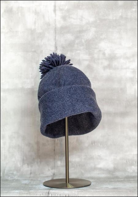 Claudia Schulz Lilou Knit Wool Pom Pom Beanie