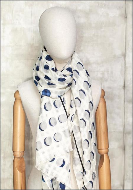 Mii Collection White Moons Scarf