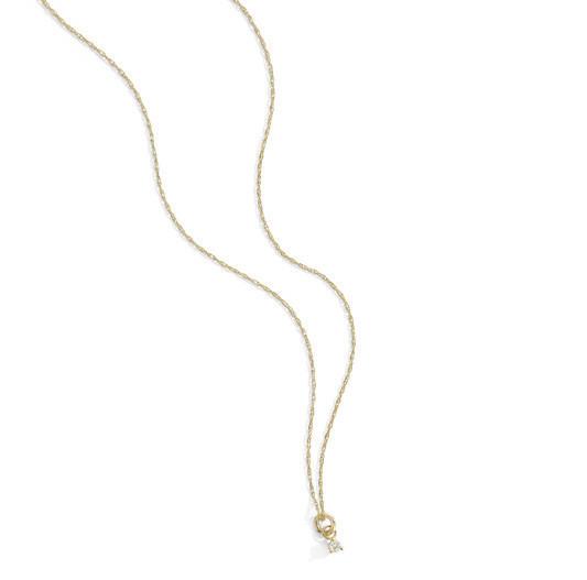Blanca Monrós Gómez Tiny White Diamond Necklace
