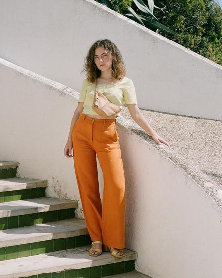 Paloma Wool MARGHERITA PANT - PEACH