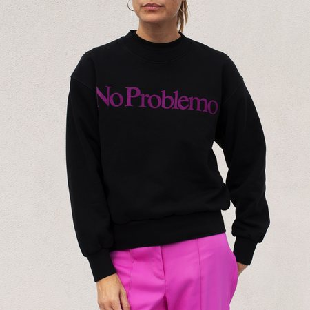 Aries Arise No Problemo Sweatshirt - Black