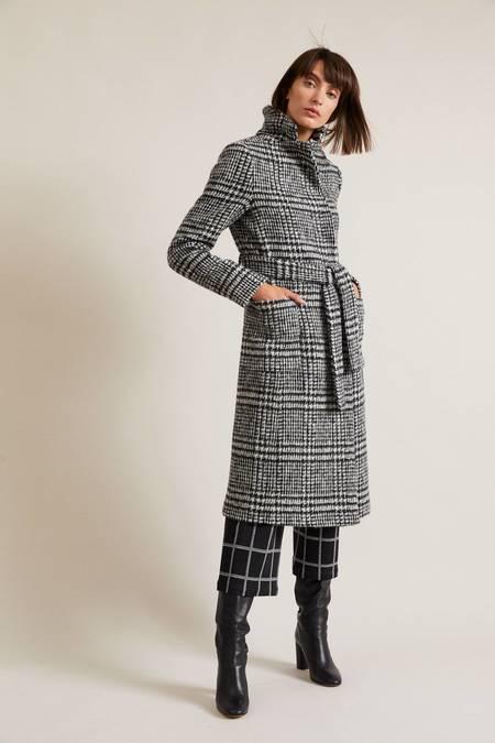 Lanius wool KAROMANTEL coat