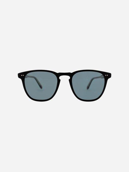 GARRETT LEIGHT Brooks 47 - Matte Black/Blue Smoke Polar