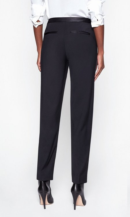 Equipment Burcet Wool Trouser - True Black
