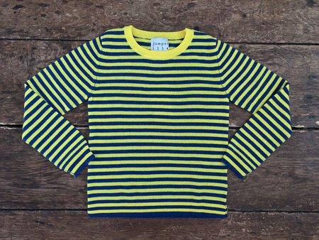 KIDS Jumper 1234 Striped Crew - Sunny
