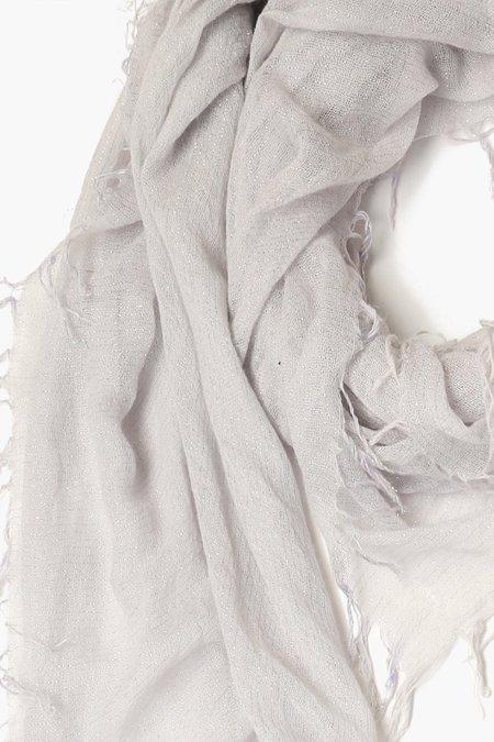 Chan Luu Cashmere and Silk Scarf - Glacier Grey Metallic