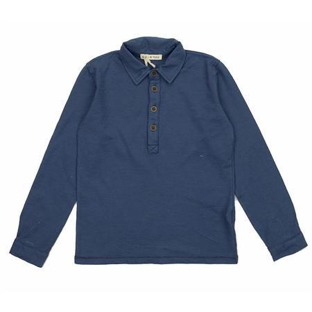 kids babe and tess shirt - indigo