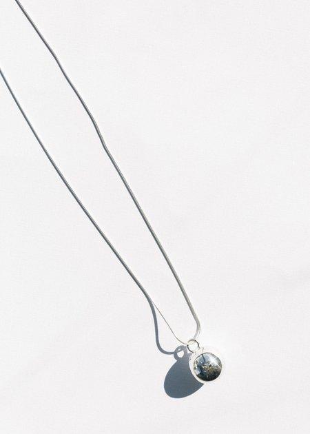 Jasmin Sparrow Cherry Necklace - Silver