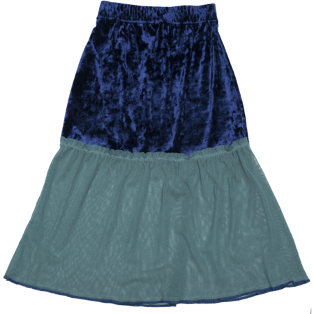kids paade mode tulle emily skirt - aqua